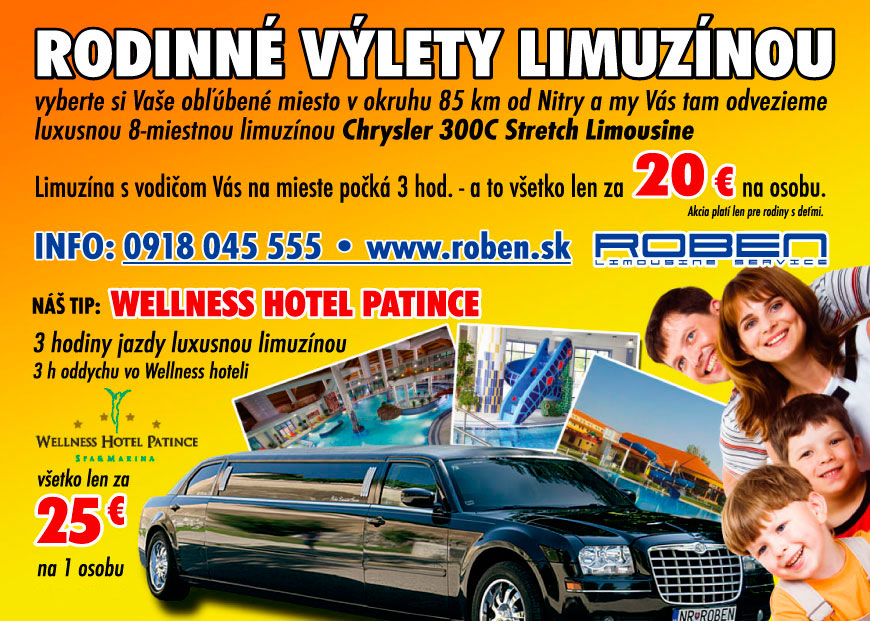 Limousines for family trips